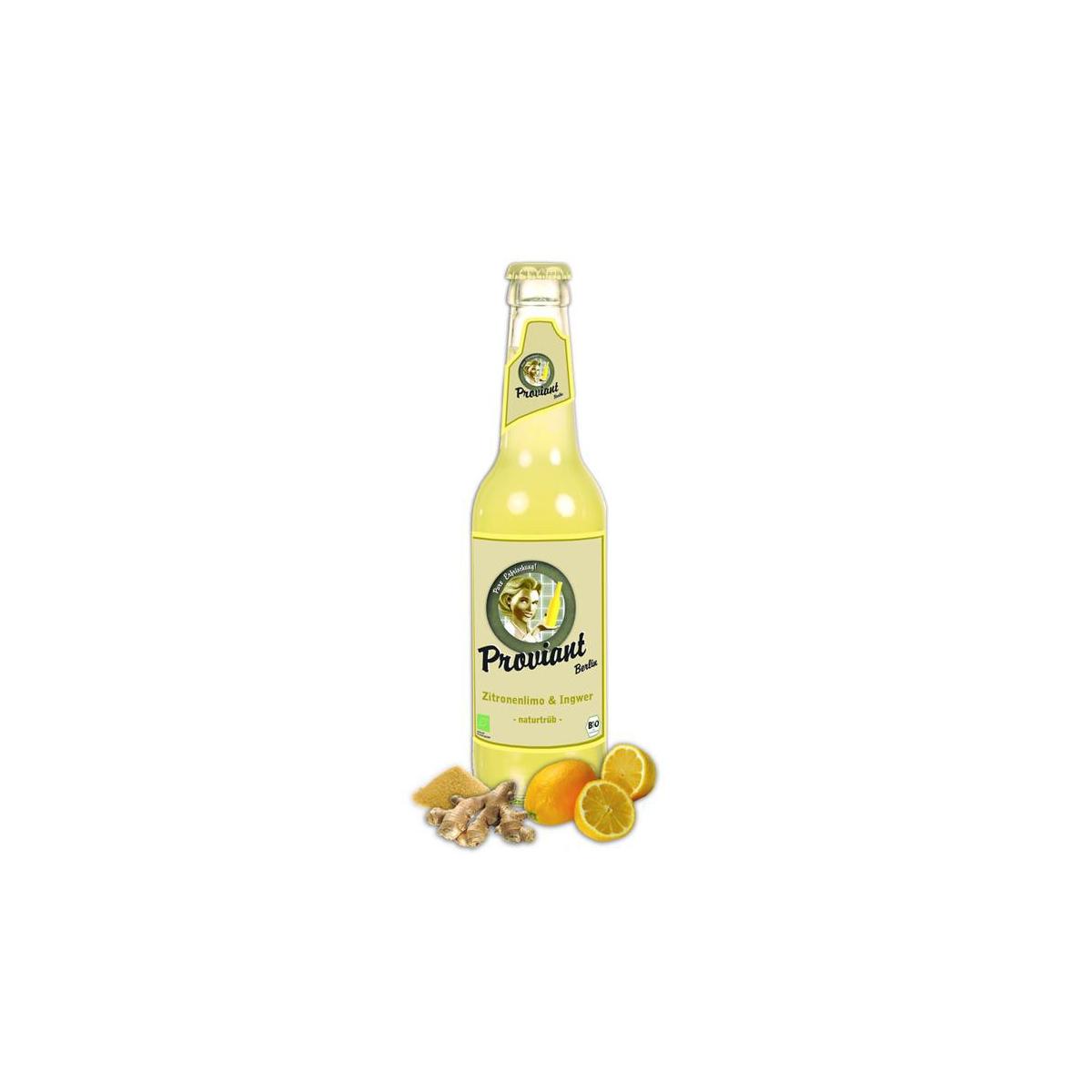 Bio Limonade Zitrone-Ingwer Proviant