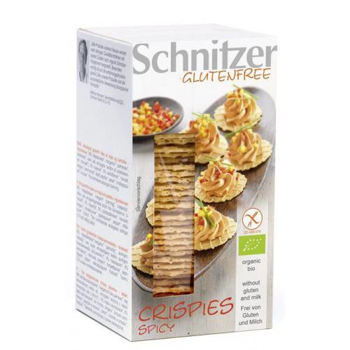 Bio Crispies Spicy Aperocracker glutenfrei