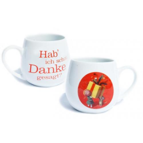Dankeschön Tee-Becher, 420 ml