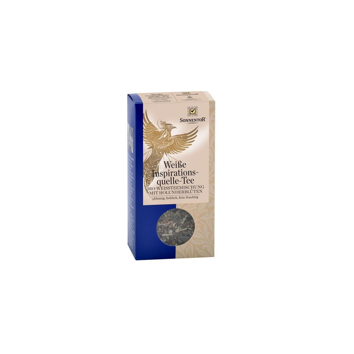 Weisser Schutz & Kraft-Tee