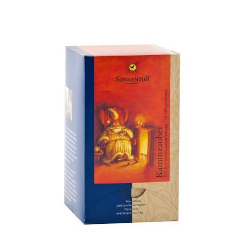 Kaminknistern-Tee Aufgussbeutel