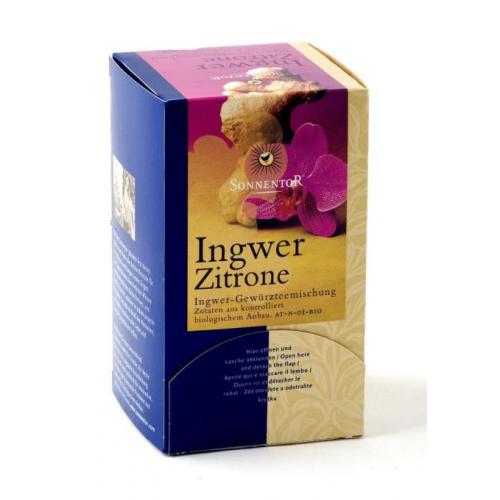 Ingwer-Zitronen-Tee Aufgussbeutel