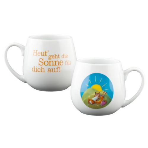 Sonnige Grüsse Tee-Becher, 420 ml