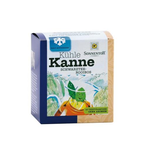Scharztee-Rooibos Kühle Kanne Schwarztee