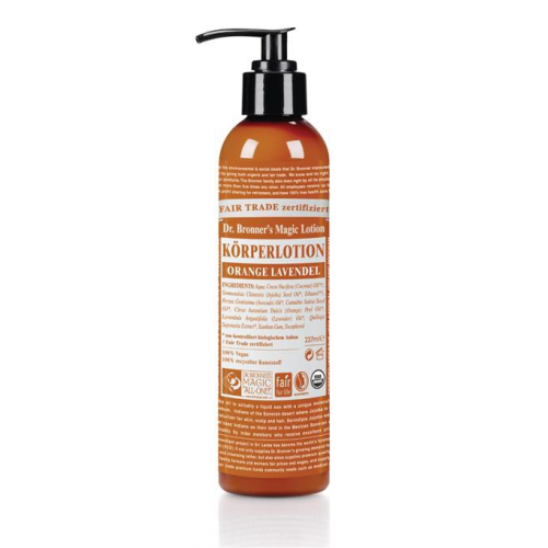 Dr. Bronner Bodylotion Orange Lavendel