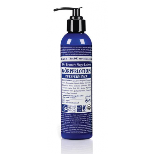 Dr. Bronner Bodylotion Pfefferminze