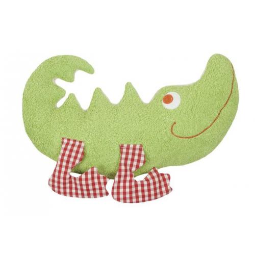 Kuscheltier Krokodil Biobaumwollplüsch
