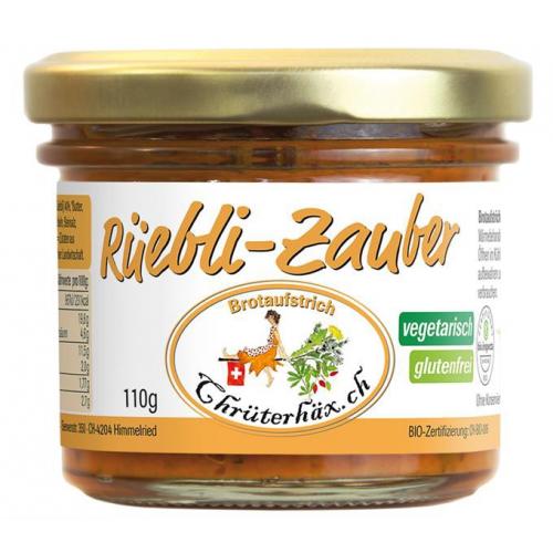 Chrüterhäx Bio Aufstrich Rüebli-Zauber