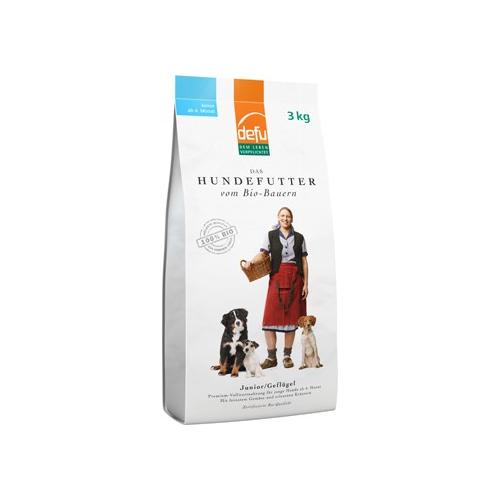 Bio Hundefutter Junior Premium trocken 3kg