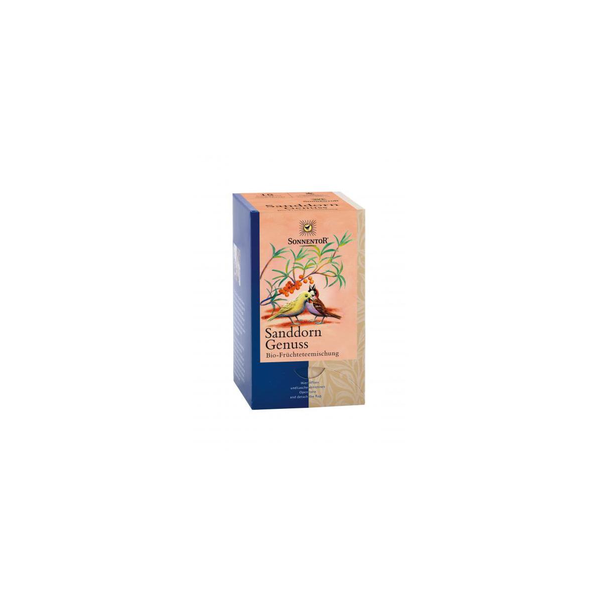 Sanddorn Genuss-Früchtetee Aufgussbeutel