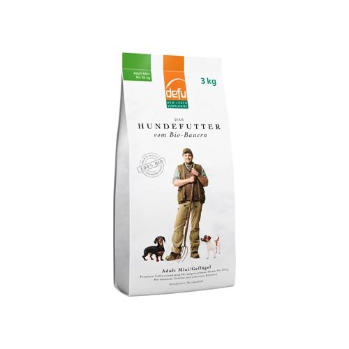 Bio Hundefutter Mini Adult Premium trocken 3kg