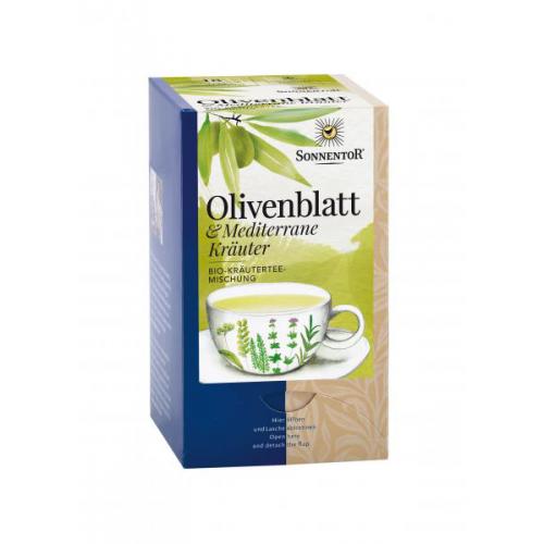 Olivenblatt Mediterrane Kräuter Tee