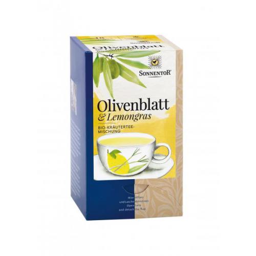 Olivenblatt-Lemongras Tee