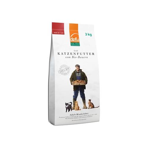 Bio Katzenfutter trocken Adult Rinderleber 3kg