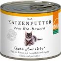 Bio Katzen-Alleinfutter nass Gans 200g