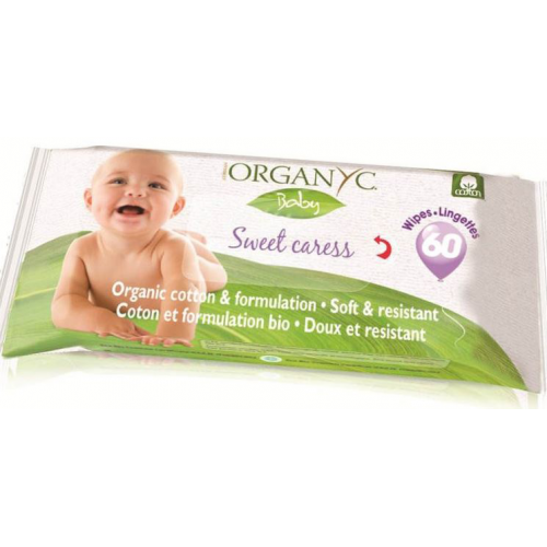 Feuchttücher Baby Organyc