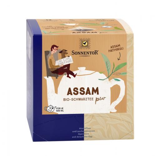 Assam Schwarztee Hatihkuli PUR Kannenbeutel