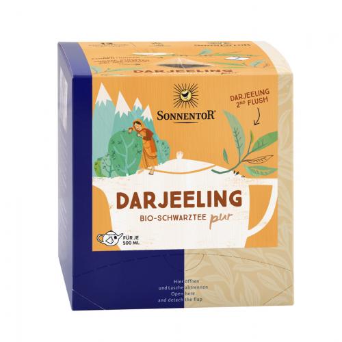 Darjeeling Schwarztee Singtom PUR Kannenbeutel