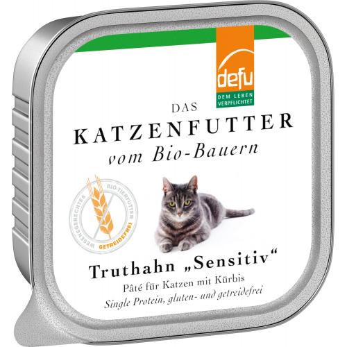 Bio Katzen-Alleinfutter Paté Truthahn 100g