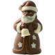 Bio Schoggi Weihnachtsmann Vollmilch