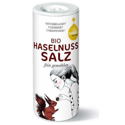 Bio Haselnuss-Salz