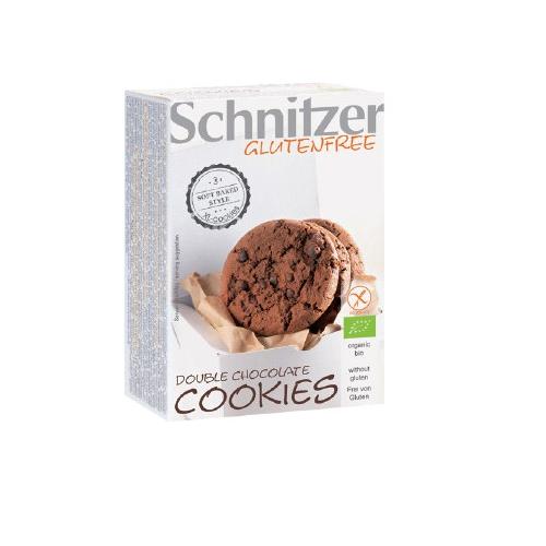 Bio Double Chocolate Cookie glutenfrei