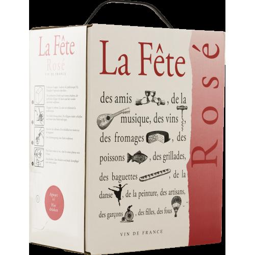 La FÊTE Rosé Bag in Box 3l SALE