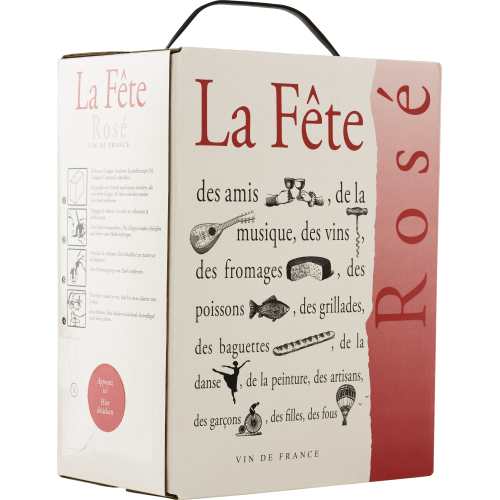 La FÊTE Rosé Bag in Box 3l