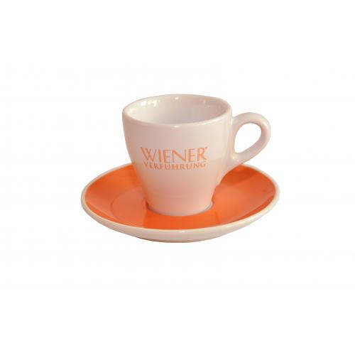 WIENER VERFÜHRUNG Porzellan Espresso-Tasse Sonnentor