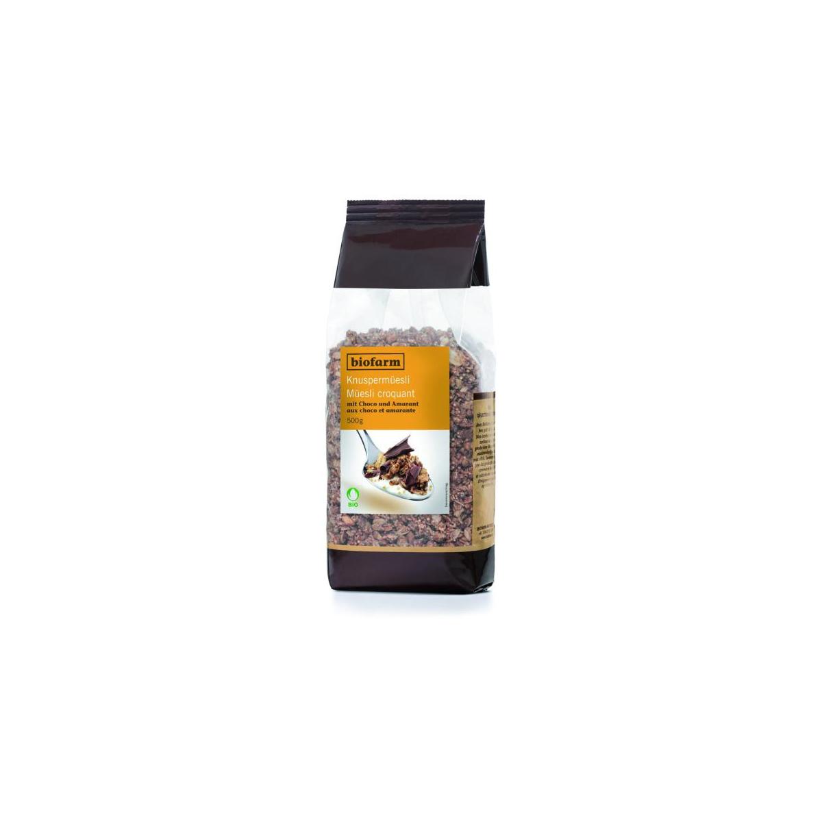 Knuspermüesli Choco / Amaranth