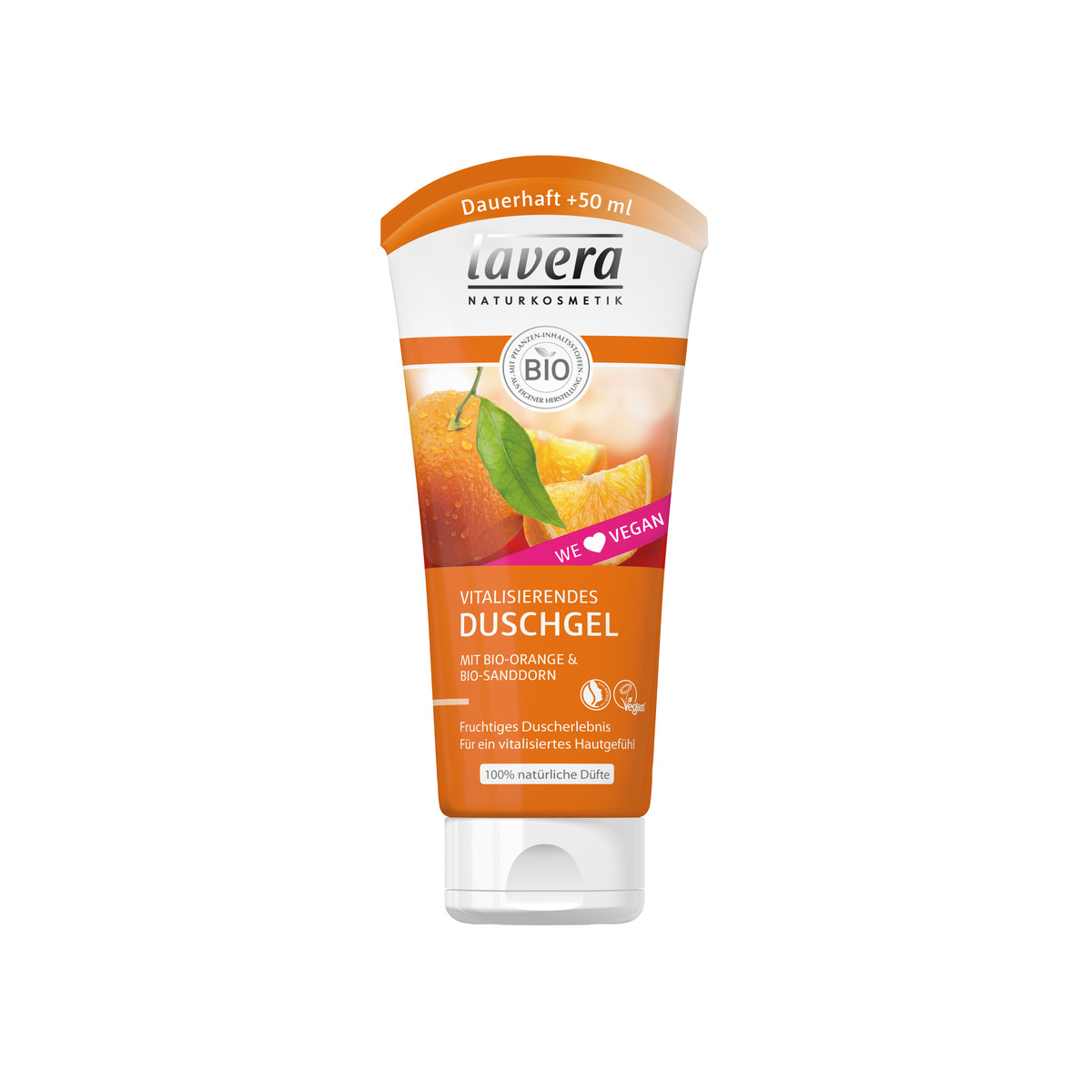 lavera vitalisierendes Duschgel Bio Orange