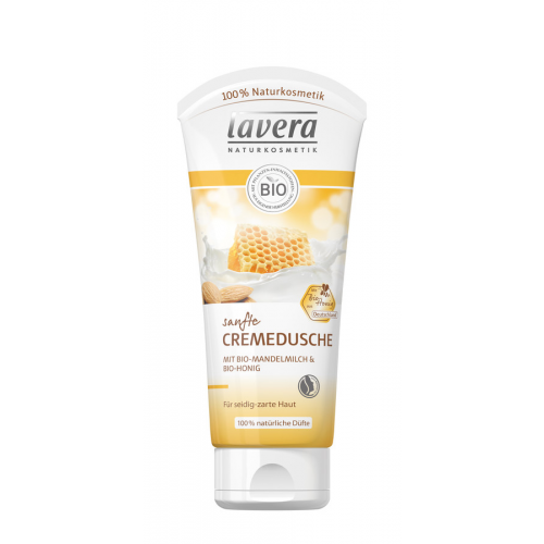 lavera Sanftes Duschgel Bio Mandelmilch Honig