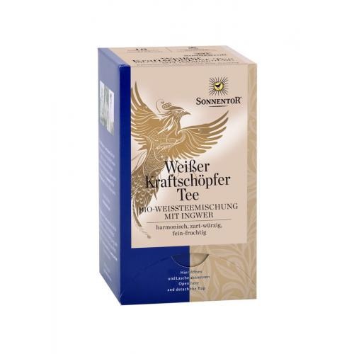 Weisser Kraftschöpfer-Tee Aufgussbeutel