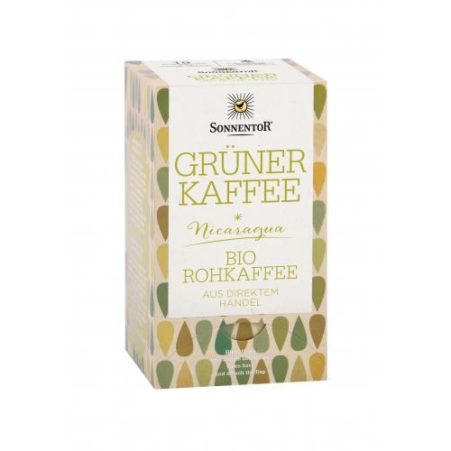Grüner Kaffee Doppelkammerbeutel