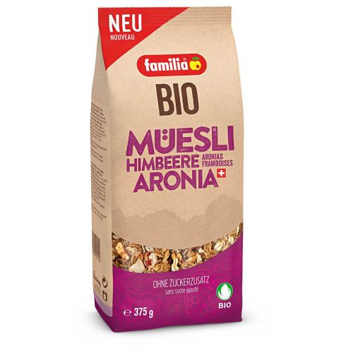 familia Bio Müesli Aronia & Himbeere