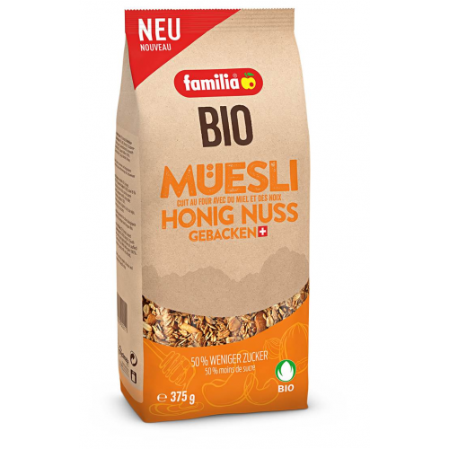 Bio Müesli Honig & Nuss