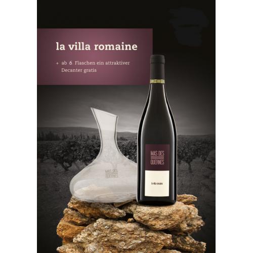 Villa Romaine AOP 6er-Set. Karaffe gratis