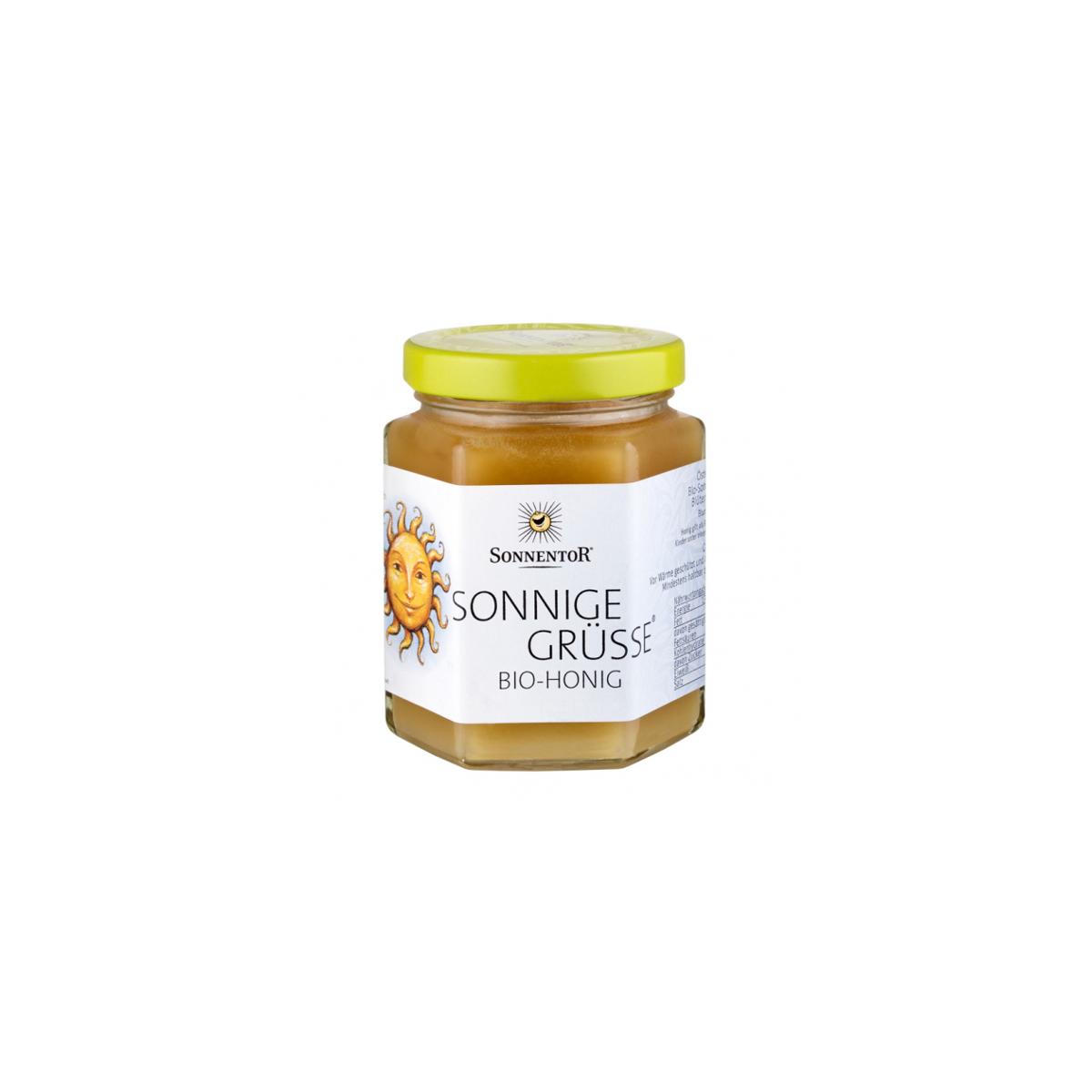 Sonnige Grüsse Honig Sonnentor