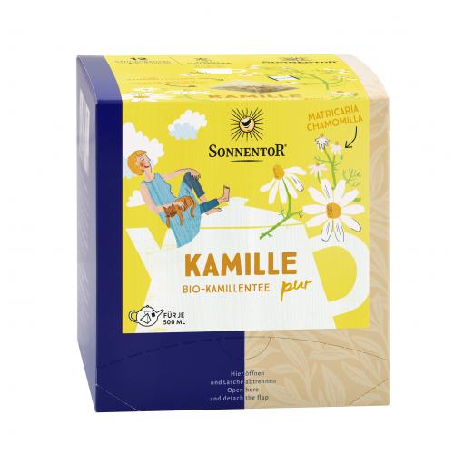 Kamille PUR Kannenbeutel