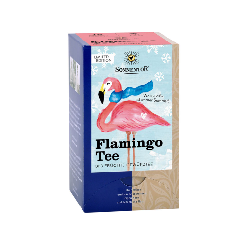 Flamingo Tee Aufgussbeutel