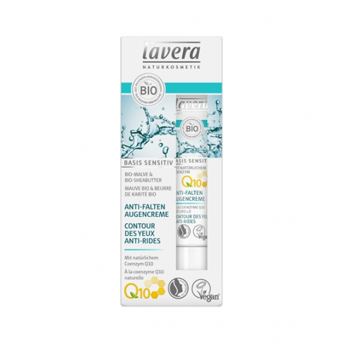Anti-Falten Augencreme Q10 basis sensitiv