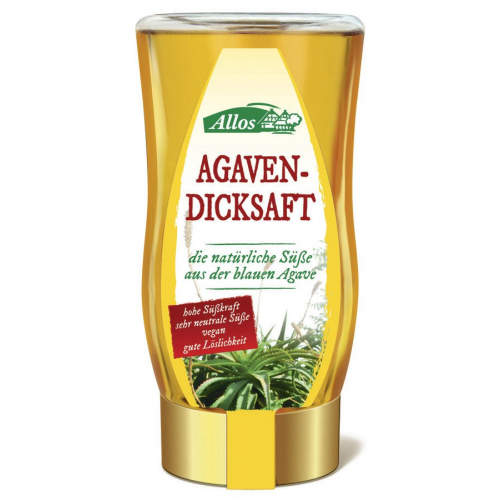 Agavendicksaft Allos 250ml Spender