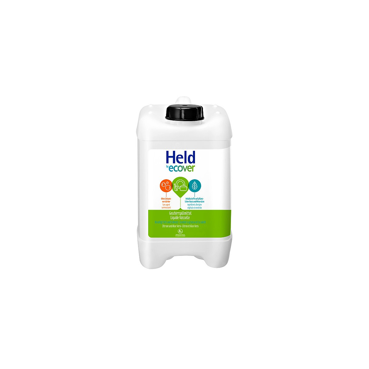 Held Geschirrspülmittel Zitrone Aloe 5L