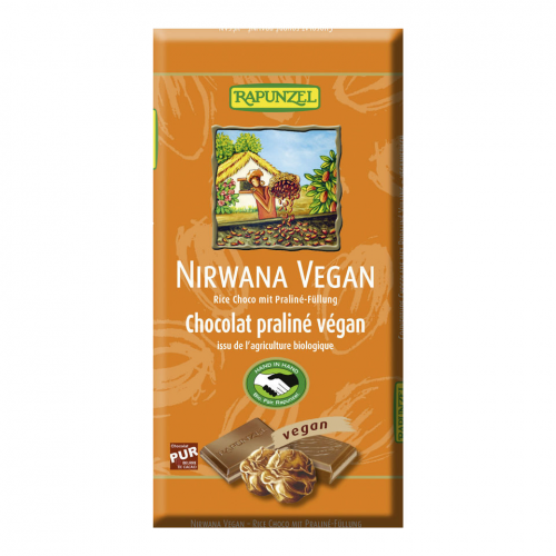Rice Milk Nirwana mit Trüffelfüllung Tafel 100 g - Rapunzel