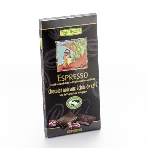 Schokolade 51% Espresso Zartbitter