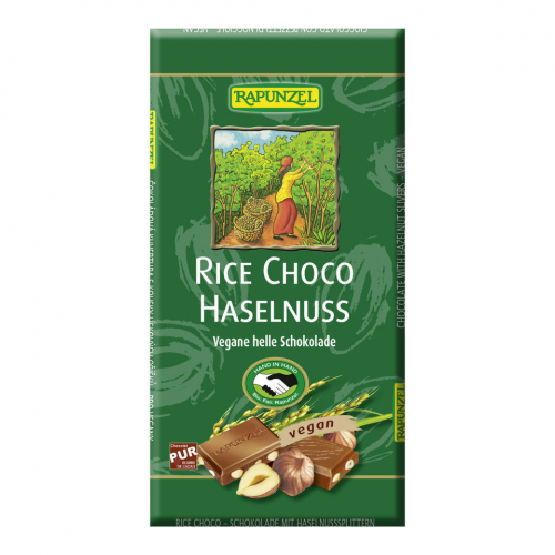Rice Milk Haselnuss hell Tafel 100 g - Rapunzel