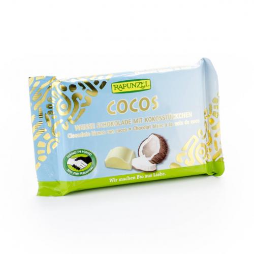 Schokolade Cristallino weiss mit Kokos