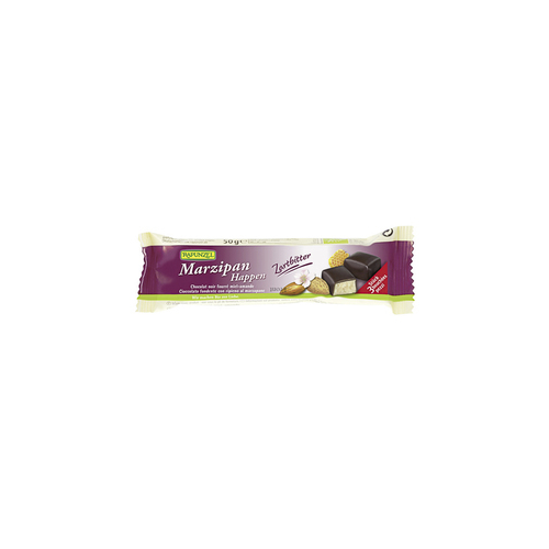 Marzipan-Happen Zartbitter Riegel 50 g - Rapunzel