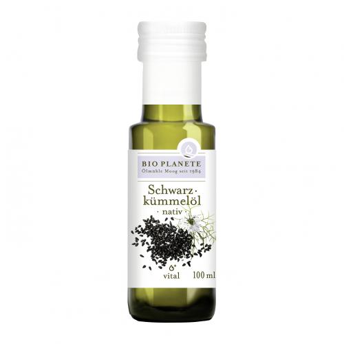 Schwarzkümmelöl nativ Flasche 100 ml/Glas Einweg - Bio Planète