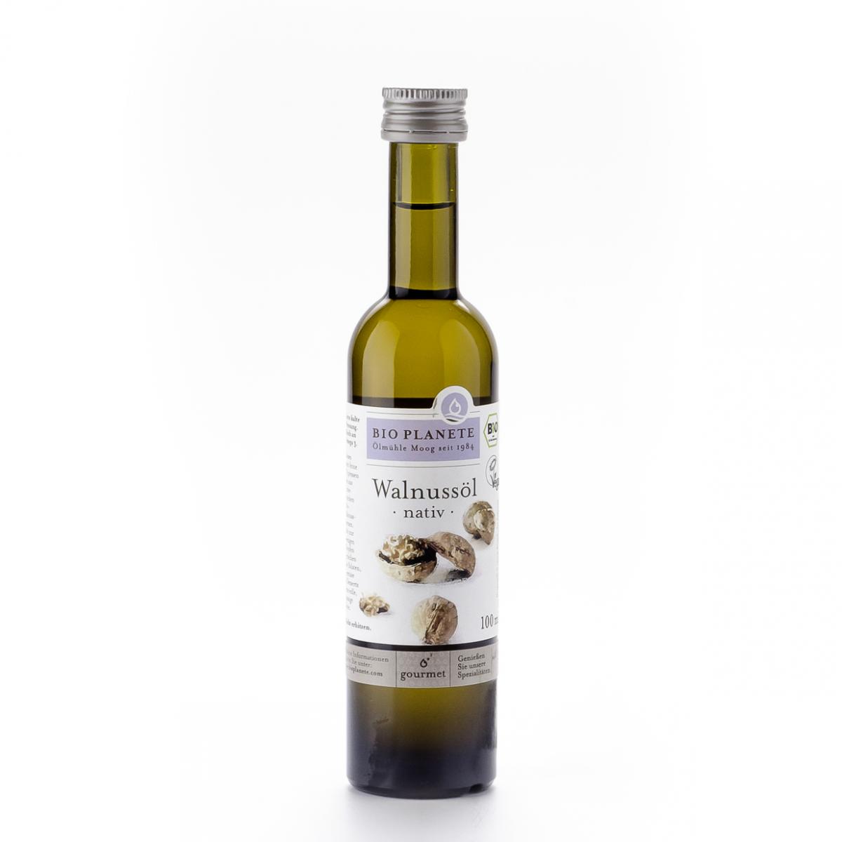 Walnussöl nativ Flasche 100 ml/Glas Einweg - Bio Planète